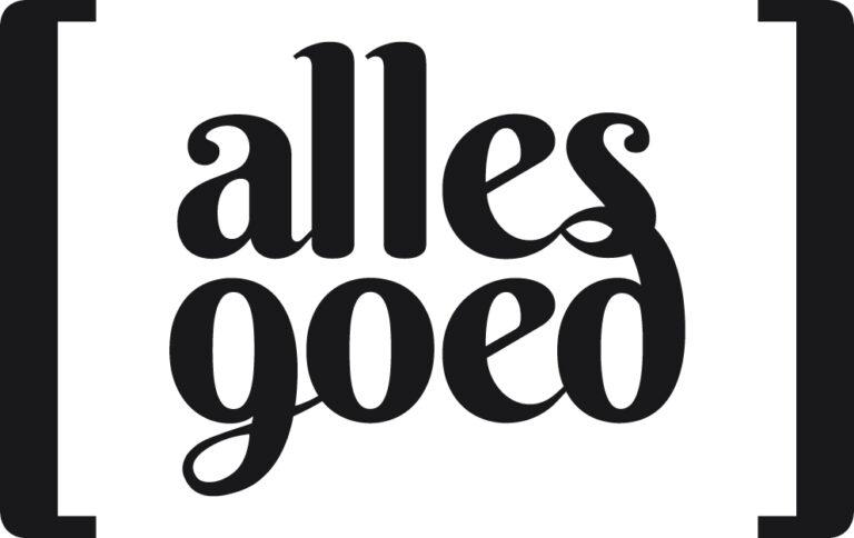 Logo Alles Goed | Geeft je merk vleugels